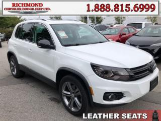 Used 2017 Volkswagen Tiguan Highline for sale in Richmond, BC