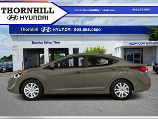 Used 2015 Hyundai Elantra GL  - Heated Seats -  Bluetooth for sale in Thornhill, ON