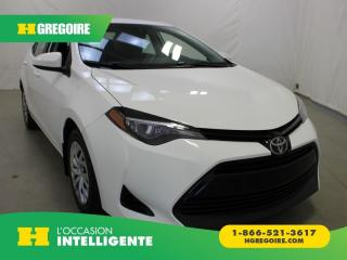 Used 2017 Toyota Corolla LE for sale in St-Léonard, QC