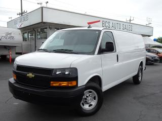Used 2018 Chevrolet Express Extended, Heavy Duty, Only 12188 kms for sale in Vancouver, BC