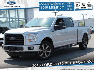 Used 2016 Ford F-150 Xlt Sport 4x4 Camera for sale in Victoriaville, QC