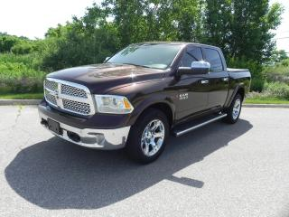 Used 2015 RAM 1500 CREW CAB 4X4 ECO DIESEL LARAMIE for sale in Brantford, ON