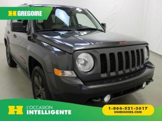 Used 2017 Jeep Patriot 75th Anniv for sale in St-Léonard, QC