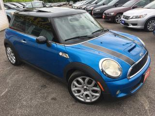 Used 2009 MINI Cooper S/ 6 SPEED/ PANORAMIC SUNROOF/ ALLOYS/ LIKE NEW! for sale in Scarborough, ON