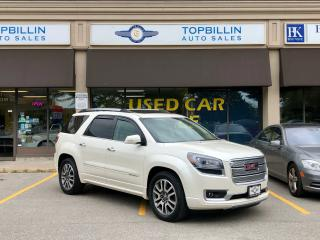 Used 2013 GMC Acadia AWD Denali, Fully Loaded, 2 Years Warranty for sale in Vaughan, ON