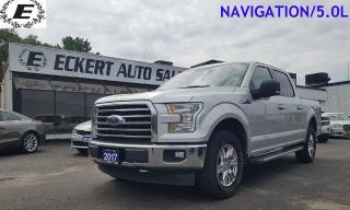 Used 2017 Ford F-150 XLT/NAVIGATION/CREW CAB for sale in Barrie, ON
