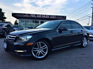 Used 2013 Mercedes-Benz C-Class C-300|NAV|SUNROOF|ALLOYS|BEIGE LEATHER|CERTIFIED! for sale in Mississauga, ON