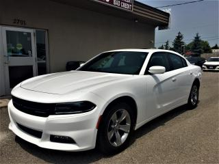 Used 2018 Dodge Charger SXT Plus|SUNROOF|CARPLAY|21KM|WHITEONBLK for sale in Mississauga, ON