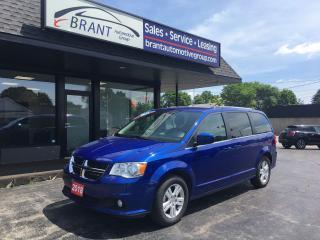 Used 2018 Dodge Grand Caravan Crew Plus for sale in Brantford, ON