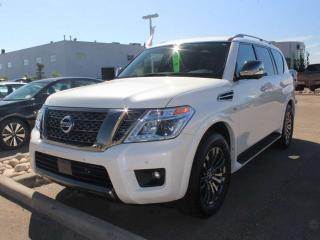 Used 2019 Nissan Armada PLANIUM RESERVE for sale in Edmonton, AB