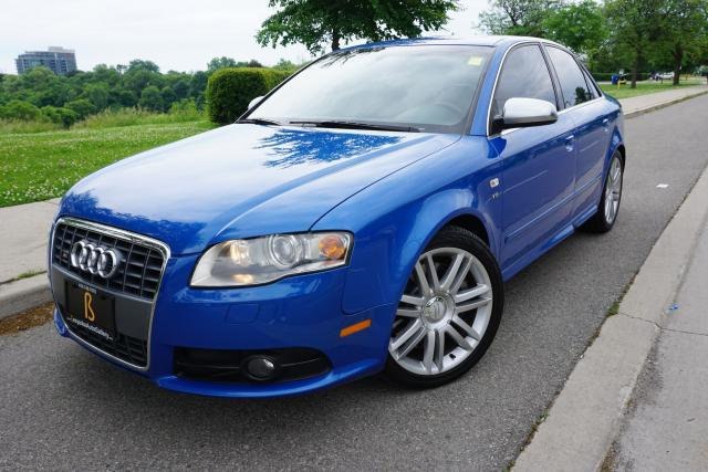 2007 Audi S4 LOCALLY OWNED / STUNNING / MAJOR SERVICE COMPLETED