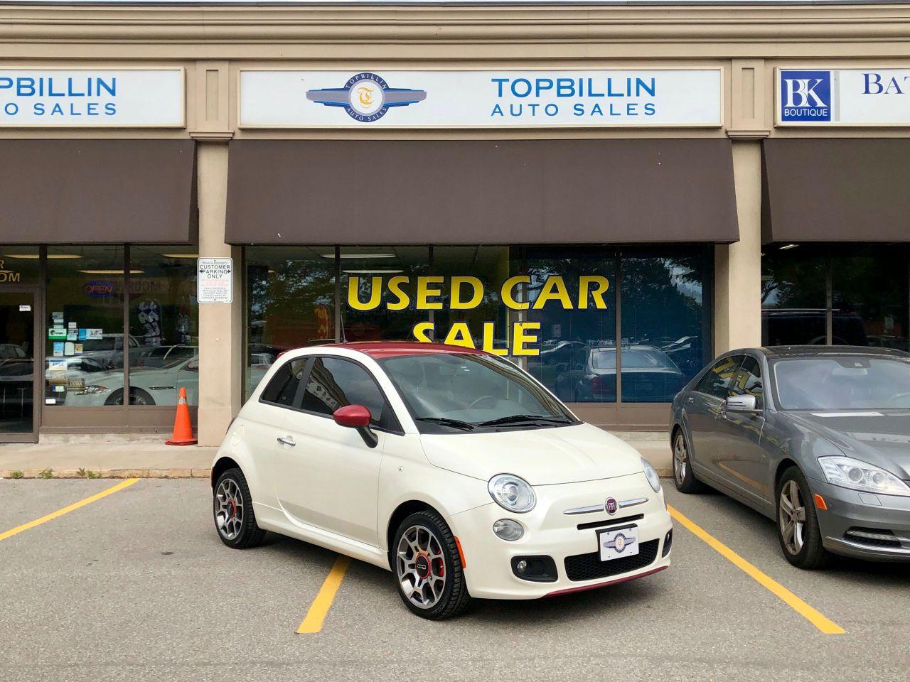 2012 Fiat 500 Sport, Manual Transmission