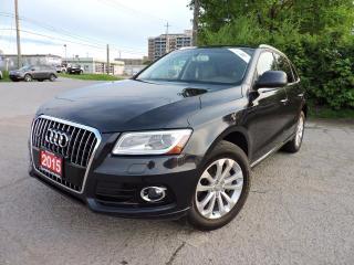 Used 2015 Audi Q5 Technik Quattro/Pano/Navigation/RevCam/BlindSpot for sale in BRAMPTON, ON
