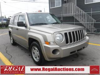 Used 2009 Jeep Patriot 4D Utility FWD for sale in Calgary, AB