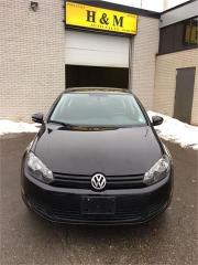 Used 2010 Volkswagen Golf TRENDLINE for sale in North York, ON