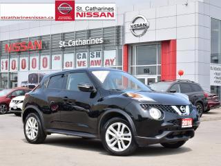 Used 2016 Nissan Juke 2016 Nissan Juke - 5dr Wgn CVT SV FWD for sale in St. Catharines, ON