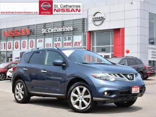 Used 2012 Nissan Murano 2012 Nissan Murano - AWD 4dr LE for sale in St. Catharines, ON