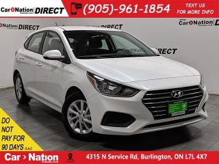 Used 2019 Hyundai Accent 5-Door Preferred| APPLE CARPLAY & ANDROID AUTO| for sale in Burlington, ON