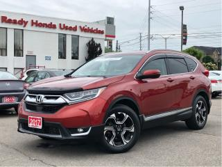 Used 2017 Honda CR-V Touring - Navigation - Pano Roof - Leather for sale in Mississauga, ON