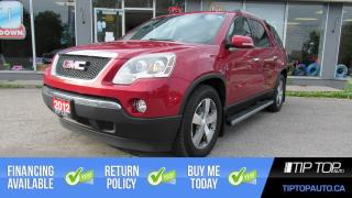 Used 2012 GMC Acadia SLT ** DVD Player, Leather, Remote Start ** for sale in Bowmanville, ON