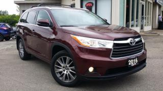 Used 2016 Toyota Highlander XLE AWD V6 2016 Toyota Highlander XLE AWD V6 - NAV! BACK-UP CAM! 8 PASS! for sale in Kitchener, ON