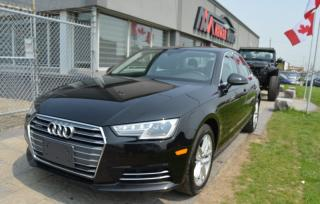 Used 2017 Audi A4 Quattro |LEATHER|HEATED SEATS|SUNROOF|PUSH START for sale in Brampton, ON
