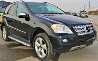 Used 2009 Mercedes-Benz ML-Class |4MATIC|BlueTEC|SUNROOF|LEATHER for sale in Brampton, ON