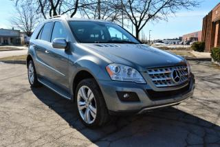 Used 2010 Mercedes-Benz ML-Class |4MATIC|LEATHER|PUSH START|SUNROOF for sale in Brampton, ON