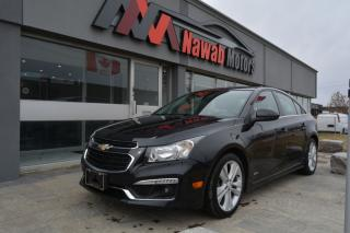 Used 2015 Chevrolet Cruze |LEATHER|HEATED SEATS|SUNROOF|APPLE CARPLAY for sale in Brampton, ON
