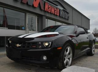 Used 2012 Chevrolet Camaro Convertible|LEATHER|HEADS UP| for sale in Brampton, ON