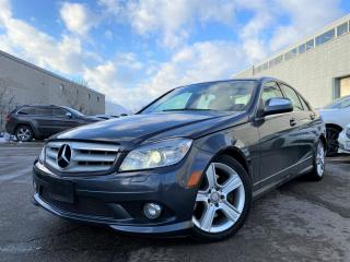 Used 2009 Mercedes-Benz C-Class |ALLOYS|POWER LEATHER HEATED SEATS|SUN ROOF & MUCH MORE! for sale in Brampton, ON