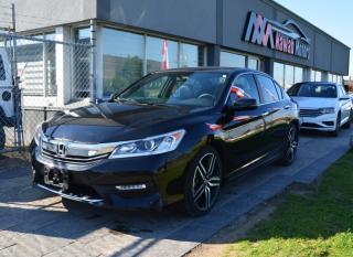 Used 2016 Honda Accord Sedan |PUSH START|HEATED SEATS|SUNROOF|WARRANTY for sale in Brampton, ON