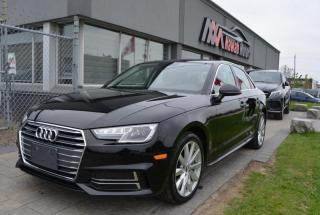 Used 2018 Audi A4 4dr Sdn Auto Progressiv Quattro w/Sunroof for sale in Brampton, ON