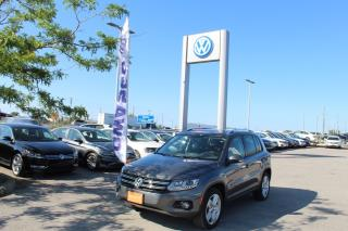 Used 2015 Volkswagen Tiguan COMFORTLINE for sale in Whitby, ON