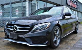 Used 2018 Mercedes-Benz C 300 |LANE ASSIST|STEERING PILOT|AMG PACKAGE|WARRANTY||PANO ROOF for sale in Brampton, ON