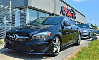 Used 2015 Mercedes-Benz CLA250 AMG PKG NAV LEATHER HEATED SEATS PANO  for sale in Brampton, ON