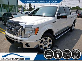 Used 2011 Ford F-150 AWD LARIAT SUPERCREW for sale in Blainville, QC
