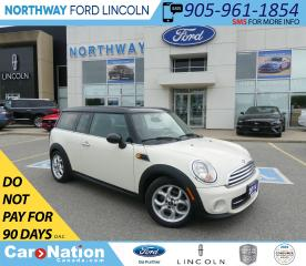 Used 2014 MINI Cooper Clubman | HTD LEATHER | PUSH START | PANO ROOF | for sale in Brantford, ON