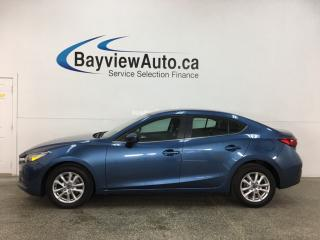 Used 2018 Mazda MAZDA3 - AUTO! ALLOYS! BIG SCREEN! PWR GROUP! for sale in Belleville, ON