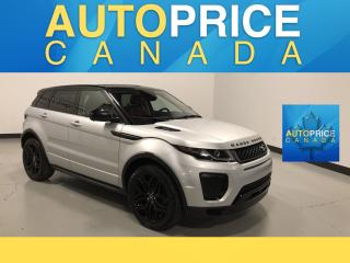 Used 2016 Land Rover Evoque HSE DYNAMIC NAVIGATION|PANOROOF|LEATHER for sale in Mississauga, ON