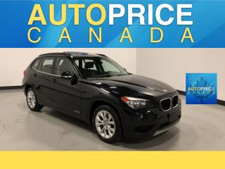 Used 2013 BMW X1 xDrive28i P/SEATS|PANOROOF|KEYLESS GO for sale in Mississauga, ON