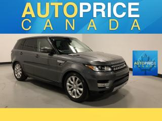 Used 2016 Land Rover Range Rover Sport DIESEL Td6 HSE NAVIGATION|PANOROOF|LEATHER for sale in Mississauga, ON