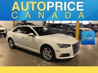 Used 2017 Audi A4 2.0T Komfort MOONROOF|ALLOYS|LEATHER for sale in Mississauga, ON