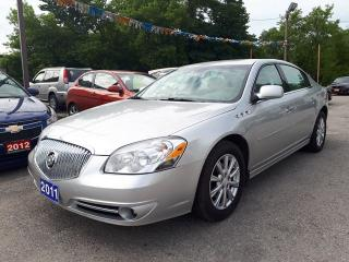 Used 2011 Buick Lucerne CX,certified Lom Kms!! for sale in Oshawa, ON