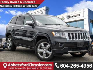 Used 2011 Jeep Grand Cherokee Overland *ACCIDENT FREE* *LOCALLY DRIVEN* for sale in Abbotsford, BC