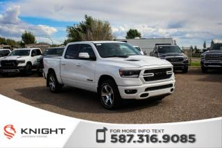 Used 2019 RAM 1500 Sport Crew Cab | Leather | Sunroof | Navigation for sale in Medicine Hat, AB