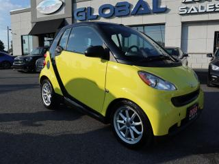 Used 2008 Smart fortwo Passion cabriolet AUTOMATIC. for sale in Ottawa, ON