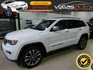 Used 2018 Jeep Grand Cherokee Limited LIMITED| NAVI| SUNROOF| 4X4| 20