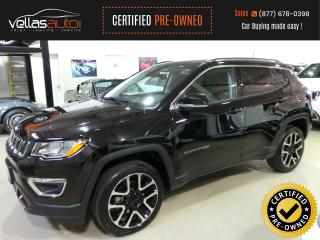 Used 2018 Jeep Compass Limited LIMITED| NAVI| PANORAMIC RF|19