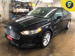 Used 2014 Ford Fusion Navigation * Remote start * Heated front seats * Heated mirrors * Microsoft SYNC touchscreen controls * Dual climate control with rear vents * Electro for sale in Cambridge, ON